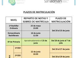 imagen plazos matriculación